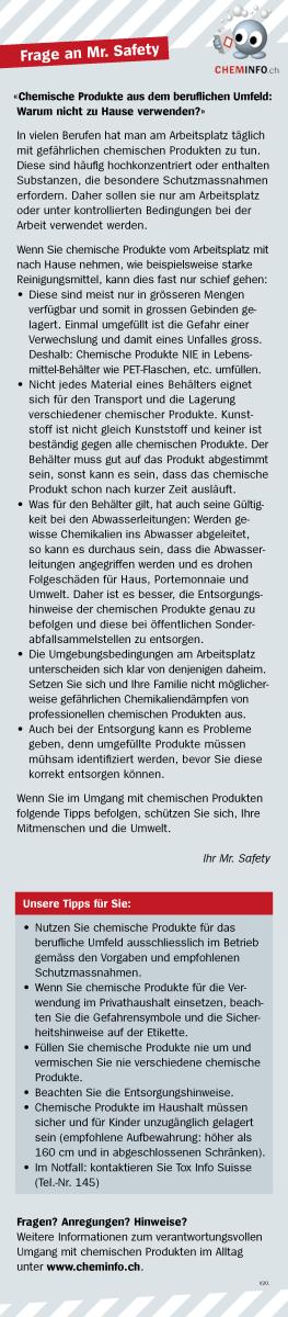 ghs ratgeber chemische produkte aus dem beruflichen umfeld f r zu hause unterhaltplus. Black Bedroom Furniture Sets. Home Design Ideas
